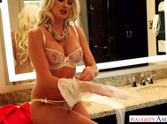 She meets up with Preston at a hotel room for some hard fucking that her husband deprives her of.