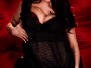 Enjoy a taste of luxury as brandy talore returns to seduce us in an elegantly appointed room with red satin padded walls.
