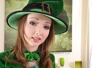 Leprechauns are a part of irish folklore, little fairies in the form of old guys who usually have a secret cache of gold.