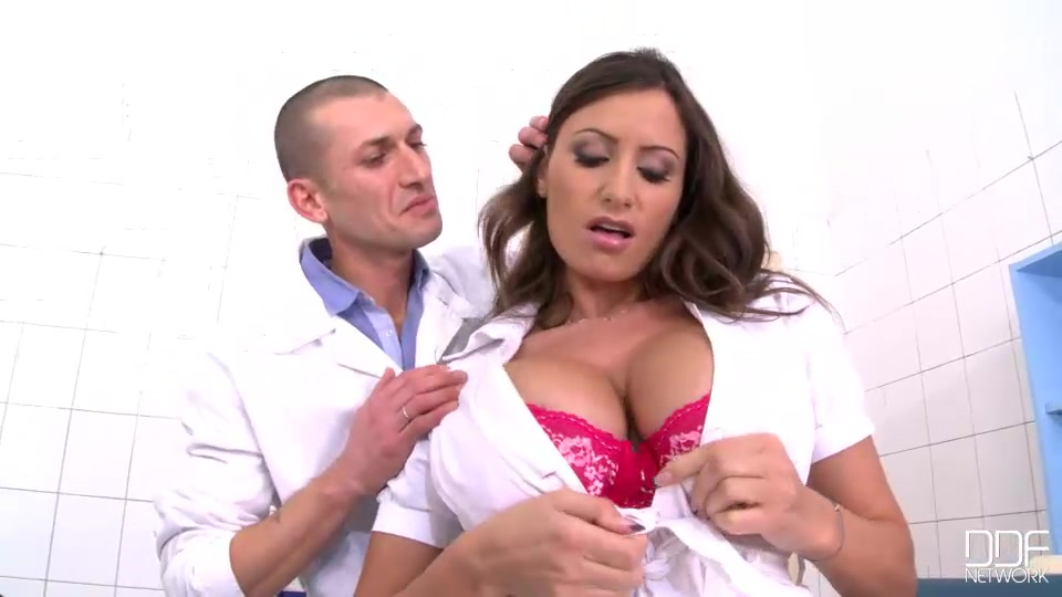Nurse sensual jane, physician luca ferraro have a meeting in an examining room at ddf genital hospital to discuss an urgent matter which turns out to be not-so-urgent when luca gets a look at jane