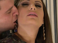 Sensual jane has a showdown with her roommate chris cummshott today when she comes home to see him sitting lazily in front of the tv.