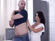If you gotta go to the doctor, busty pornstar susana alcala is the one to see, as pablo ferrari wisely does when he has a slight ache that he wants checked before he goes off to enjoy new year
