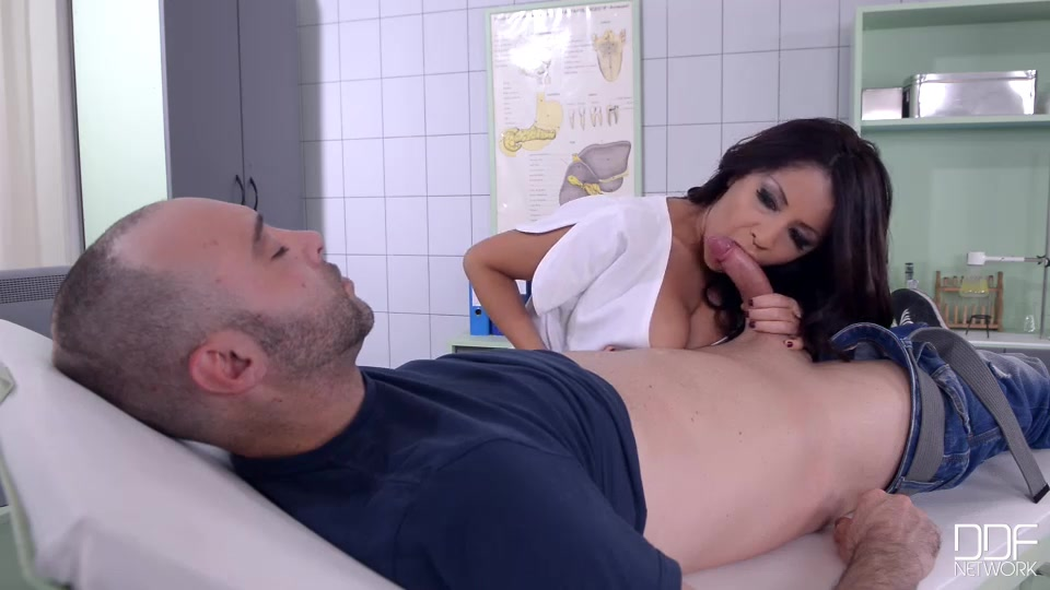 He heads to ddf genital hospital where the stacked peruvian beauty has barely checked his symptoms when she notices his boner, a natural reaction to the incredible 36d cleavage that she generously displays in her low-cut uniform.