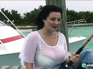 Exactly what Lorna and her roommate Kerry Marie did in On Location Key Largo.
