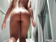 Too Bad She Kept Her Ass And Pussy Hid Behind Her Hand. Beautiful Body And Love Those Feet.