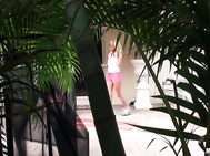 Jewel Jensen  - Spying on His Neighbor's Workout.