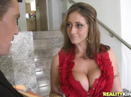 Evanotty needed her assistant to bring some important papers to sign to be mailed.