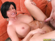 Only it wasn't my boy but one of the hottest and horniest MILF's ever.