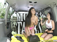 This week on Money Talks we take a lucky lady on a ride in our van and have her sit on our special sybian.