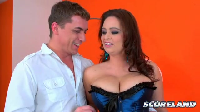 She's now sporting an H-cup, as you'll see in this SCORE Theater video and in Michelle's pictorial in April '11 SCORE.