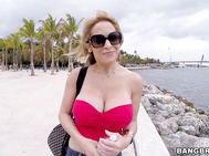 This horny busty PornStar milf by the name of Alyssa Lynn comes by eager for dick.
