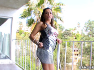 Milf Soup has a sexy mom waiting at my buddy's balcony ready to fucked.
