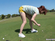 You Thought She Could Move On The Golf Course.