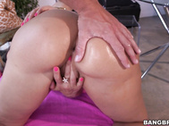Mr Anal has a special toy just for Lisa Ann today.