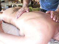 Shooter decides to call up his buddy who is a massage therapist and come help Capri feel a little better.