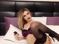 KylieClark 1457944686340 butt tease and high heels blonde