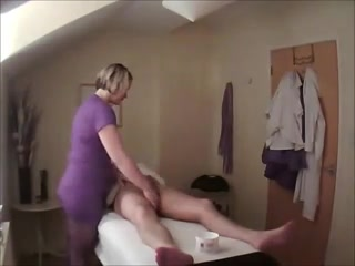 slutty masseuse gives happy ending massage