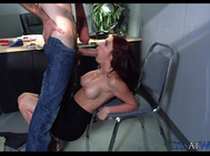 Finding a Sexy Redhead in the Office