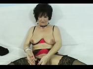 Cute Grandma Butt Fucked for the first time