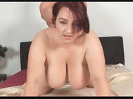 Unforgettable Redhead-FATTY-Housewife with Big-Boobs fucked
