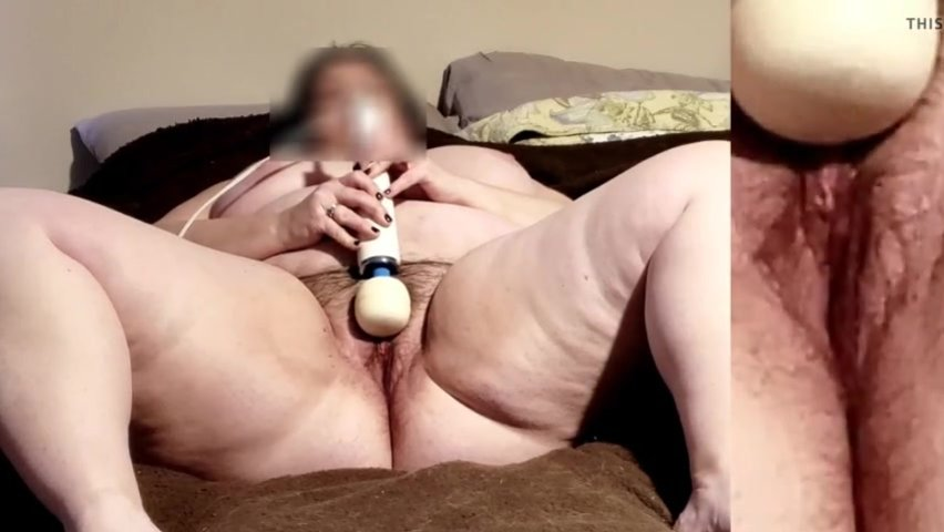 Mommy Orgasm Contractions with Hitachi