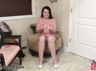 WIFE gives a WebCam Striptease for her Fans