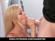 familyStrokes - Step Mature fucks stepson while dad is away
