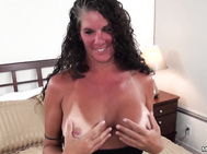 Texas huge tits tan lines WIFE POV
