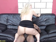 first time interracial fuck for 71 years old grannie