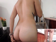 Latina chica on webcam