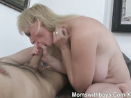 Passionate And Cute Sex With Mom Mama And Innocent Boy