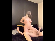 Blonde ass fuck creampie