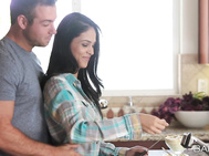 In the heat of the moment, there's nowhere better than the kitchen for a passionate bout of lovemaking.